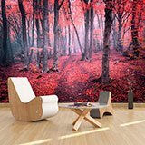 Wall Murals: The Red Forest 2