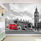 Wall Murals: Bus in Westminster 2