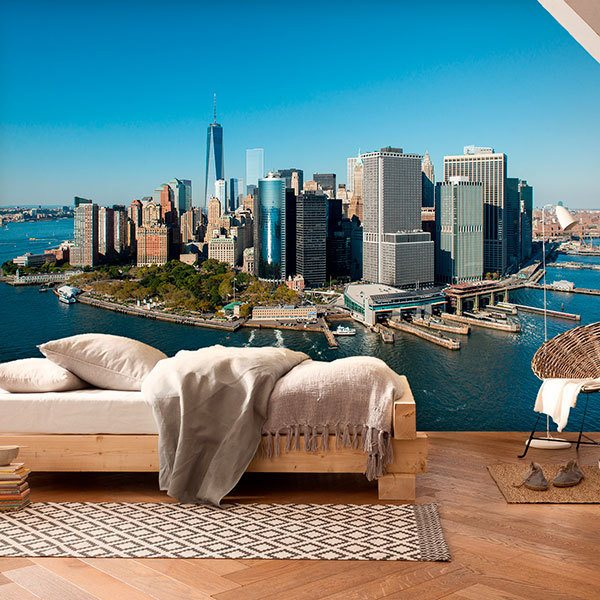 Wall Murals: Manhattan Island