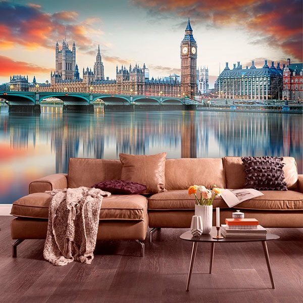 Wall Murals: London from the Thames 0