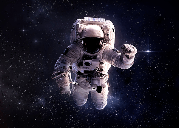 Wall Murals: Astronaut in space
