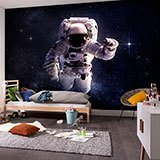 Wall Murals: Astronaut in space 2