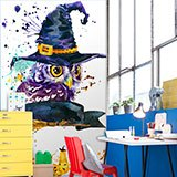 Wall Murals: The Magic Owl 2
