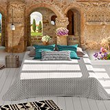 Wall Murals: Panoramic porch 2