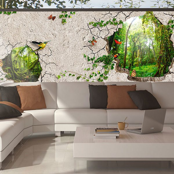 Wall Murals: The wall of freedom 0