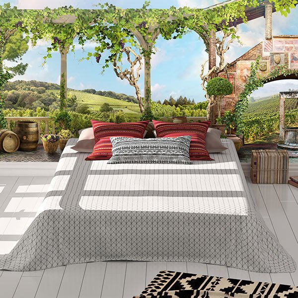 Wall Murals: Italian Farmhouse