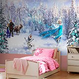 Wall Murals: Frozen and his friends 2