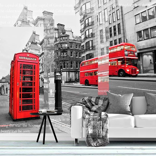 Wall Murals: Collage London