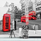 Wall Murals: Collage London 2