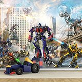 Wall Murals: Transformers in action 2