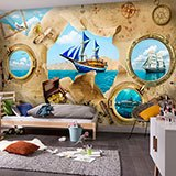 Wall Murals: Sailing adventures 2