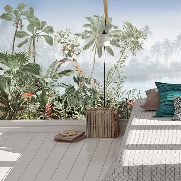 Wall Murals: Jungle Landscape