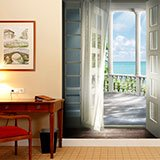Wall Murals: Gateway to the sea 2