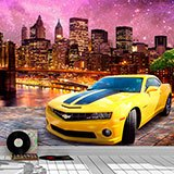 Wall Murals: Chevrolet at Brooklyn Bridge 2
