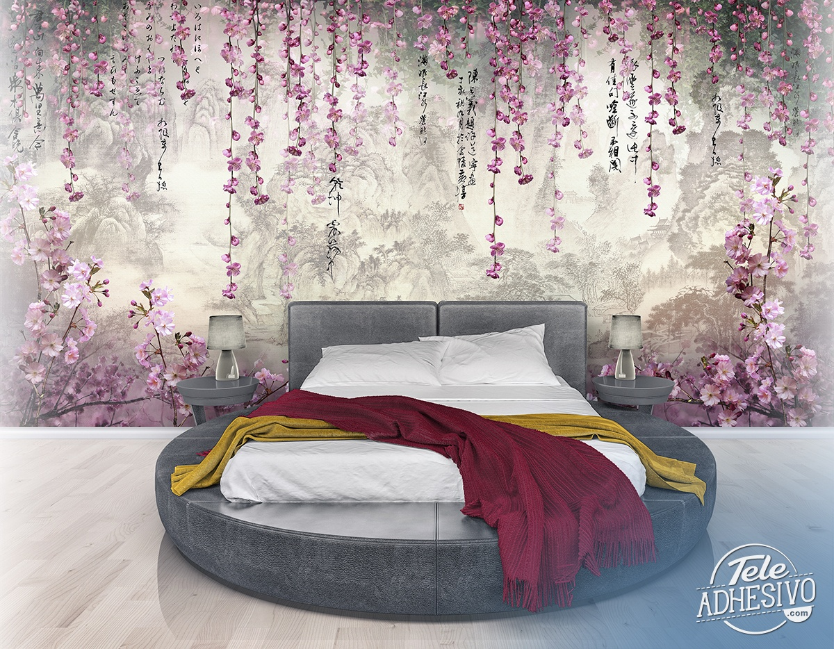 Wall Murals: Sakura Forest