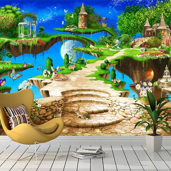 Wall Murals: Fascinating world