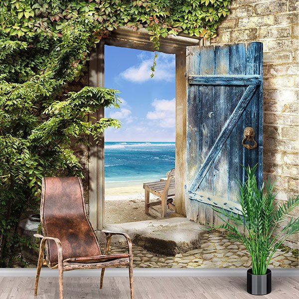 Wall Murals: Departure to the beach