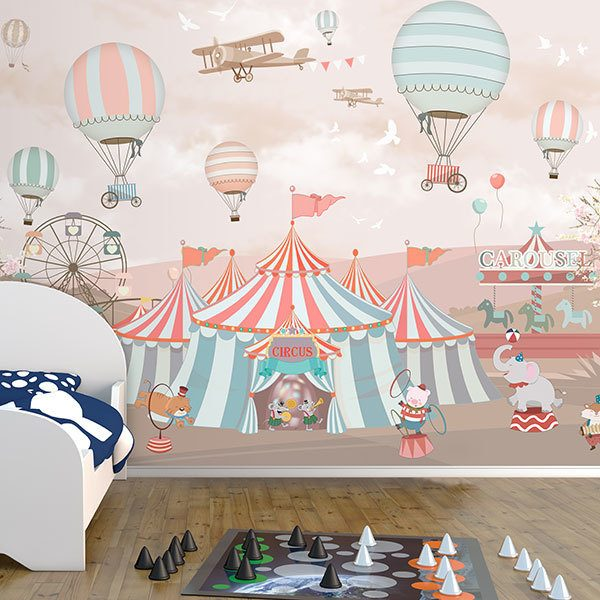 Wall Murals: Grand Animal Circus 0
