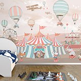 Wall Murals: Grand Animal Circus 2