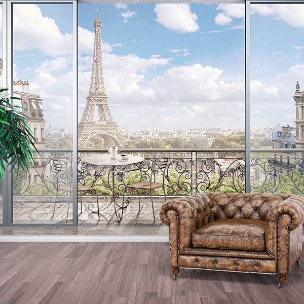 Wall Murals: Balcony in Paris