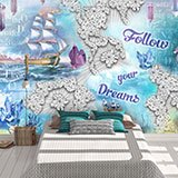 Wall Murals: Follow you dreams 2