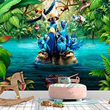 Wall Murals: Macaws of Rio 2