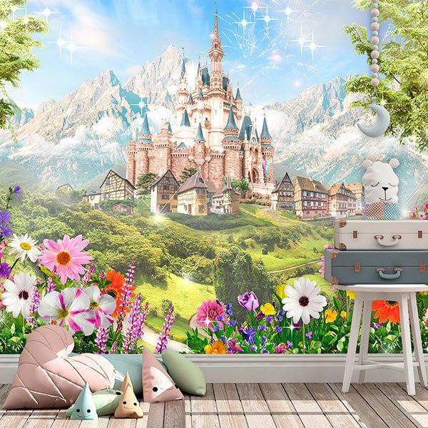 Wall Murals: Disney castle