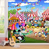 Wall Murals: Disney Amusement Park 2