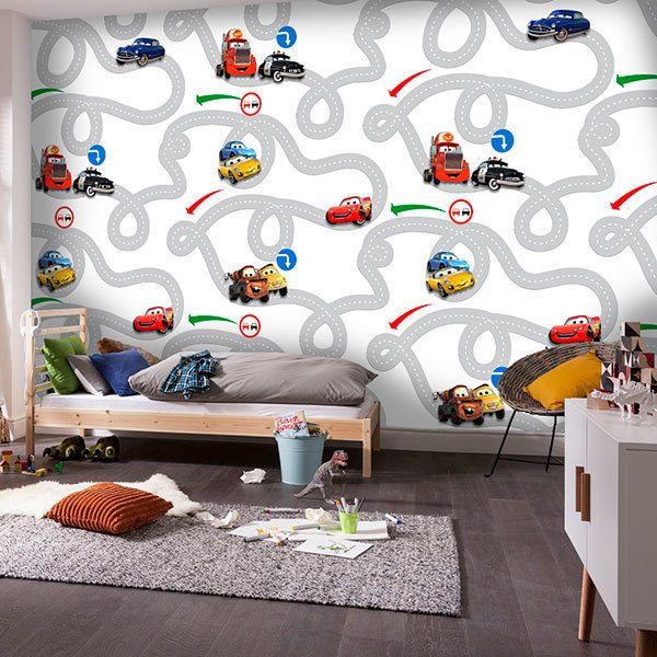 Wall Murals: Circuit Cars, Disney 0
