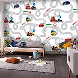 Wall Murals: Circuit Cars, Disney 2