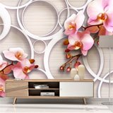 Wall Murals: Rose Orchids 2