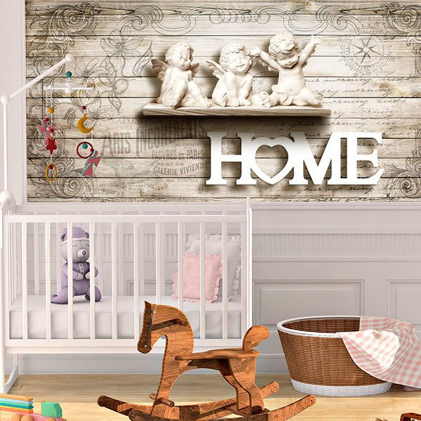 Wall Murals: Angels at home 0