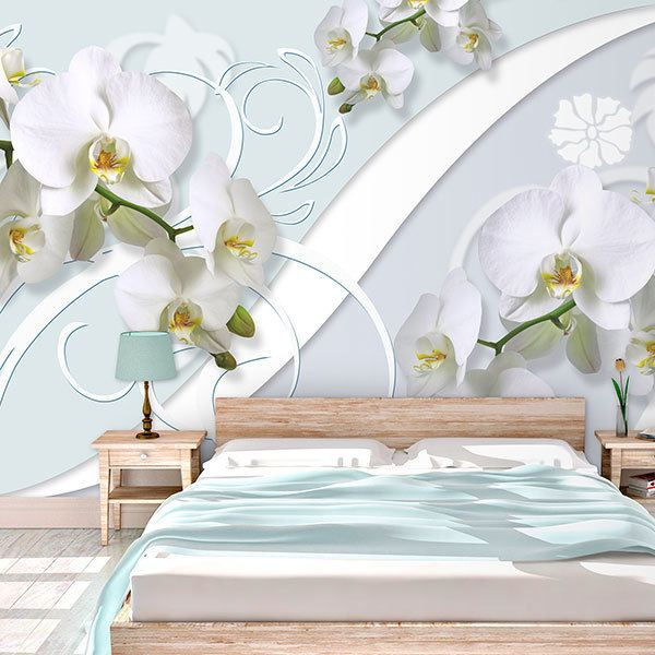 Wall Murals: Orchid Ritual