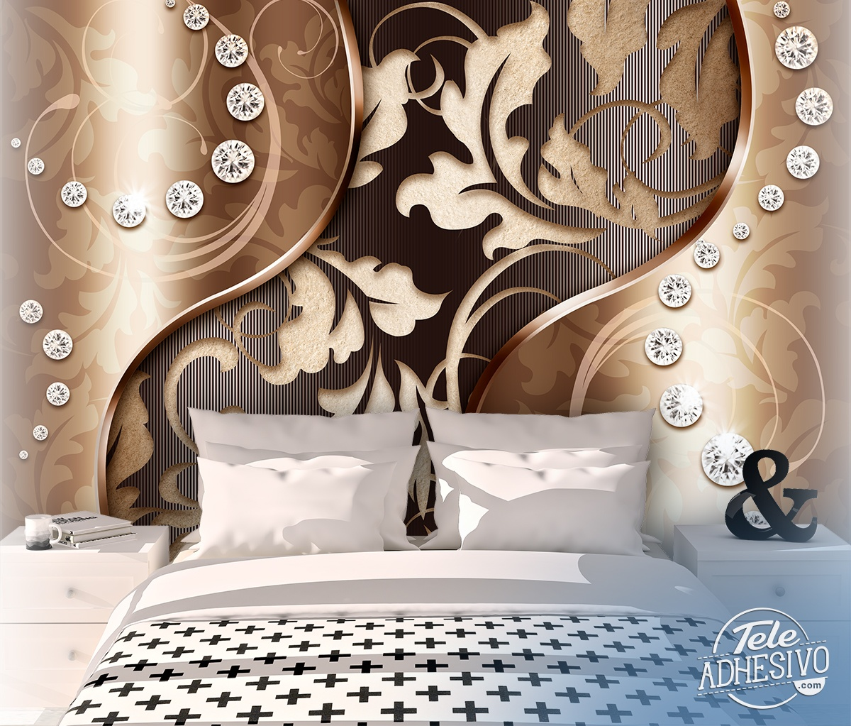 Wall Murals: Diamond blades