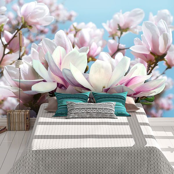 Wall Murals: Flowers of Tranquillity 0