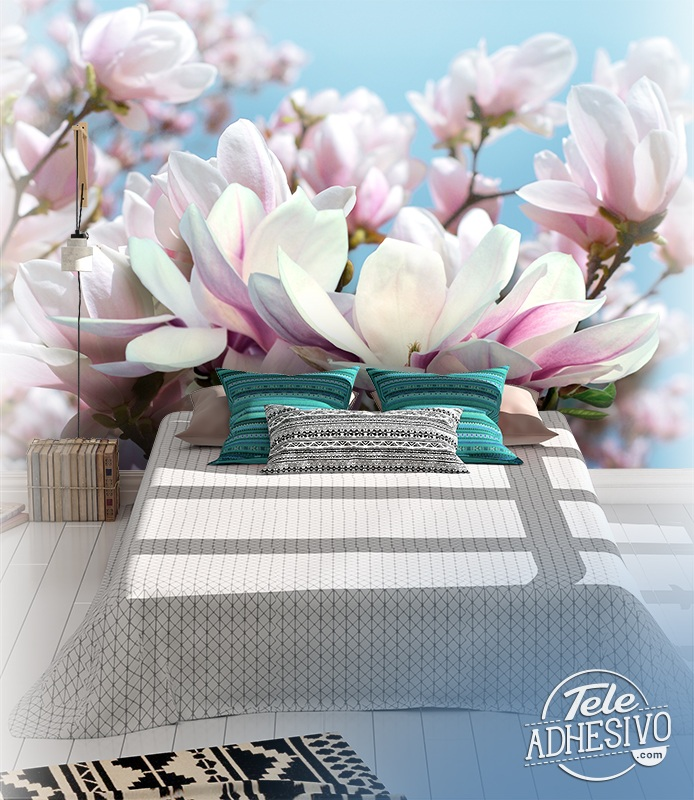 Wall Murals: Flowers of Tranquillity