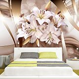 Wall Murals: Lilies of peace 2