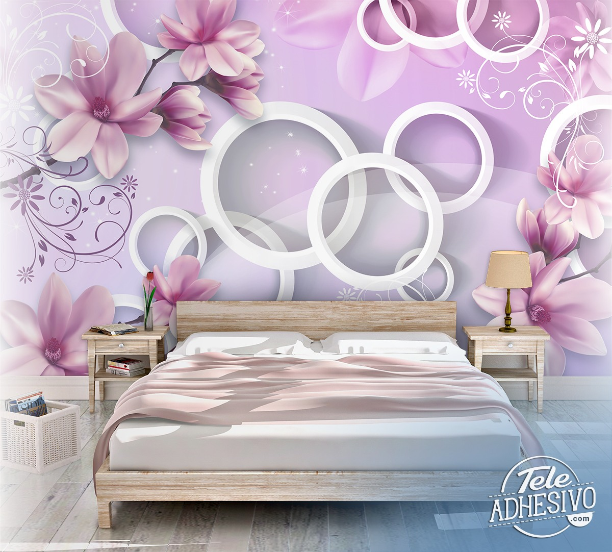 Wall Murals: Flower of the Emperor