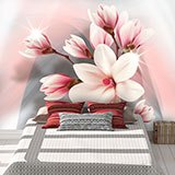 Wall Murals: Brilliant Magnolias 2