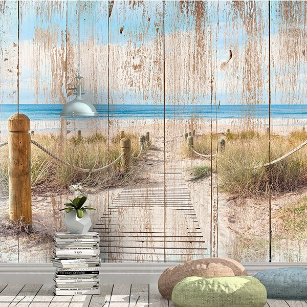 Wall Murals: Way to the beach