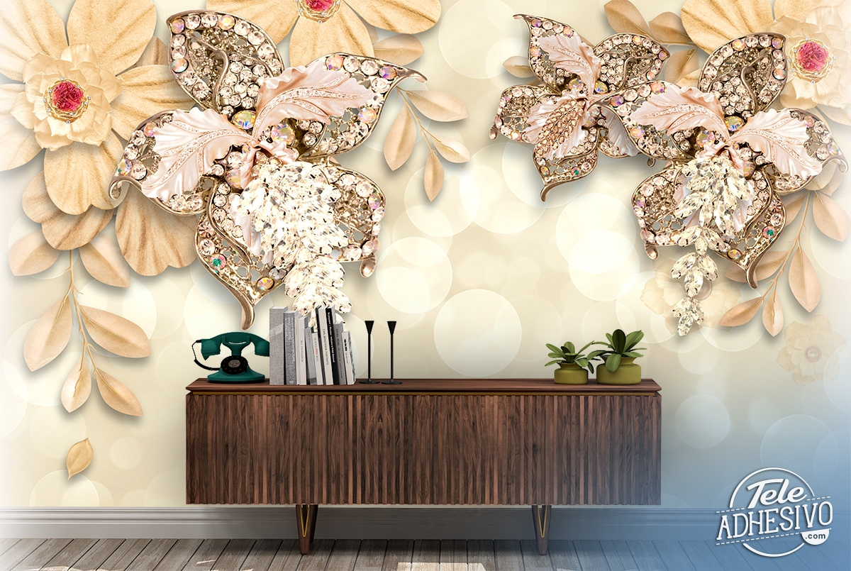 Wall Murals: Flowers of Venus