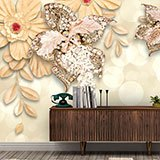 Wall Murals: Flowers of Venus 2