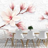 Wall Murals: Flowers sprouting from the water 2