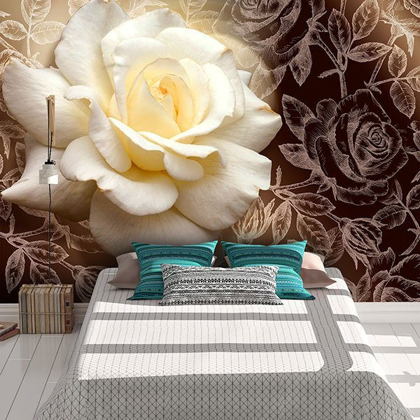 Wall Murals: Pascali Rose 0