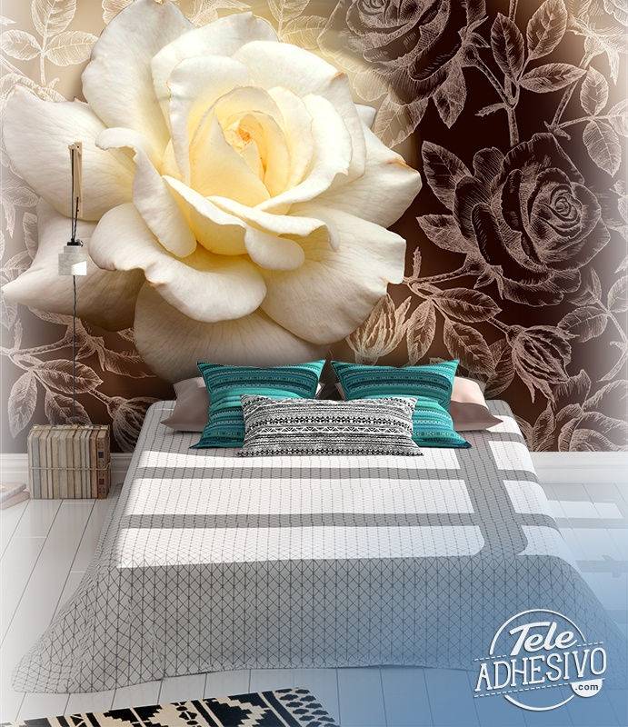 Wall Murals: Pascali Rose