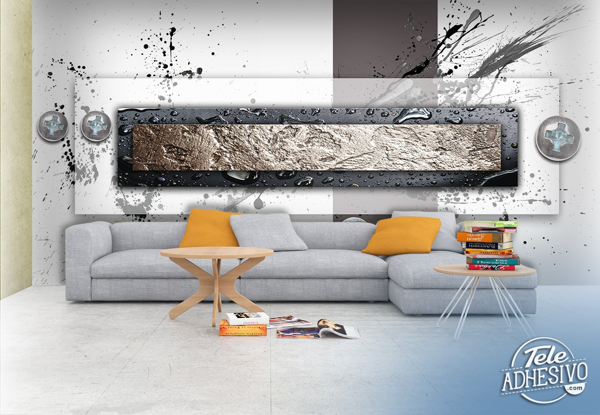Wall Murals: Metals