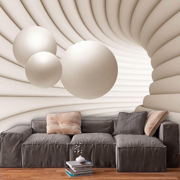 Wall Murals: Spheres in orbit