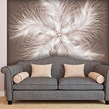 Wall Murals: Feather Spiral 2