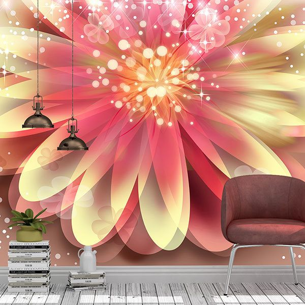 Wall Murals: Magic flower 0