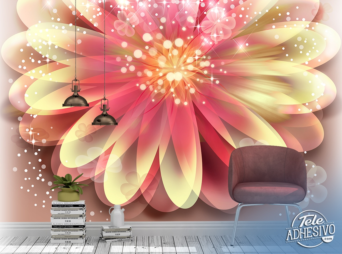 Wall Murals: Magic flower